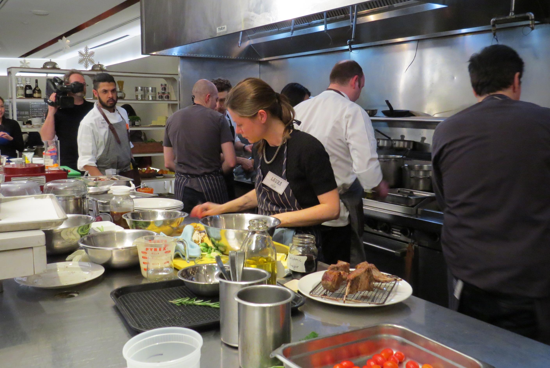 busy kitchen. Busy Kitchen N