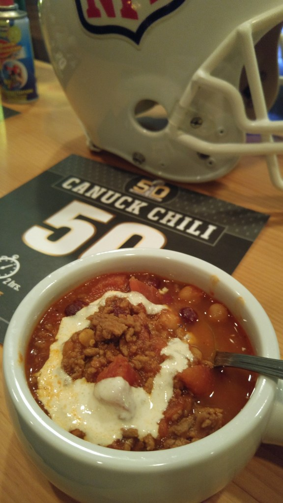 Goat Roti Chronicles - Matt Dean Pettit - Superbowl - Canuck Chili