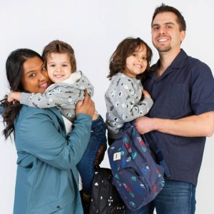 Yashy Murphy and her family
