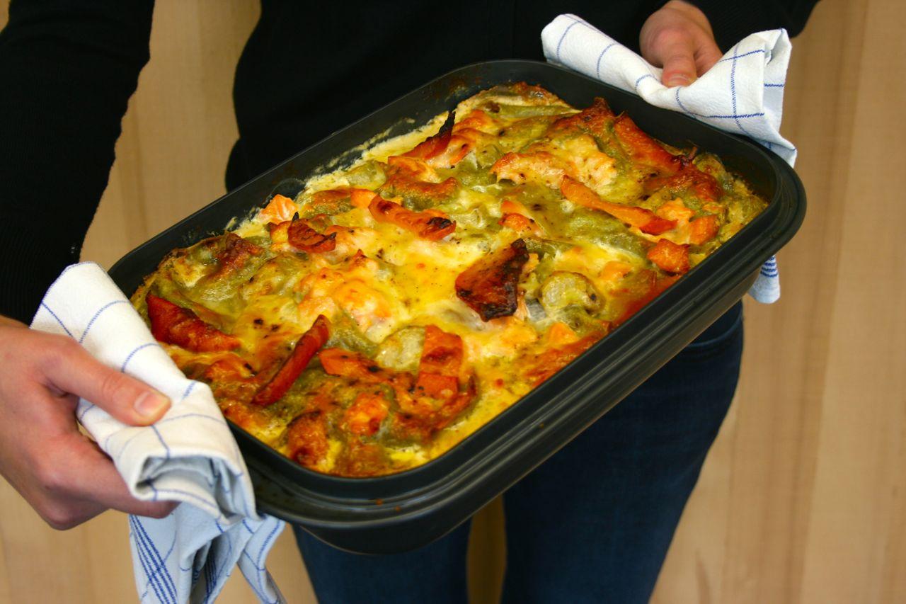 Lasagne Vorbacken