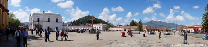 plaza 31 de marzo san cristobal de las casas mexico