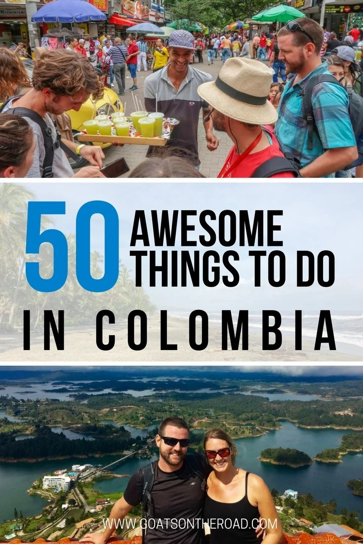 50 Awesome Things To Do in Colombia  Goats On The Road