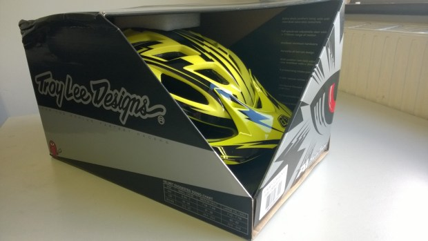 Troy Lee Designs A1 - Gloss Yellow