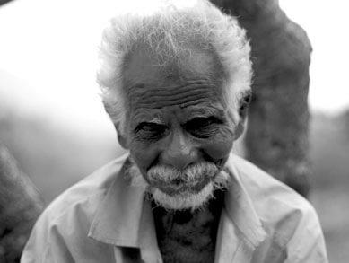Elder Sri Lankan man