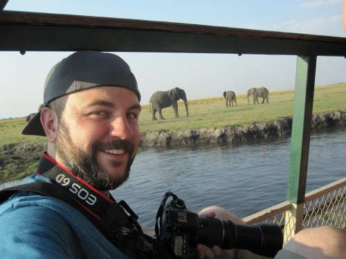 Game viewing in Chobe National Park