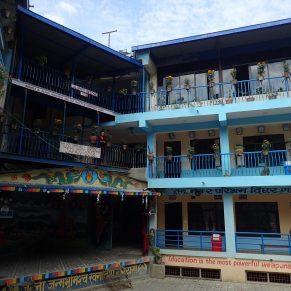 School outside of Kathmandu, Nepal