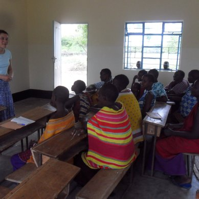 Volunteer Teaching in Tanzania