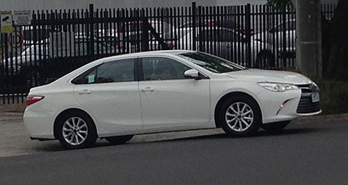 all new camry 2018 thailand corolla altis diesel automatic toyota s 2015 spied goauto learn