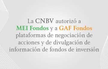 La CNBV autoriza las primeras plataformas de negociación de acciones