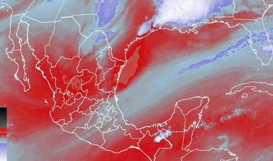 Se pronostican tormentas fuertes y granizadas en Coahuila y Chiapas para las siguientes horas.