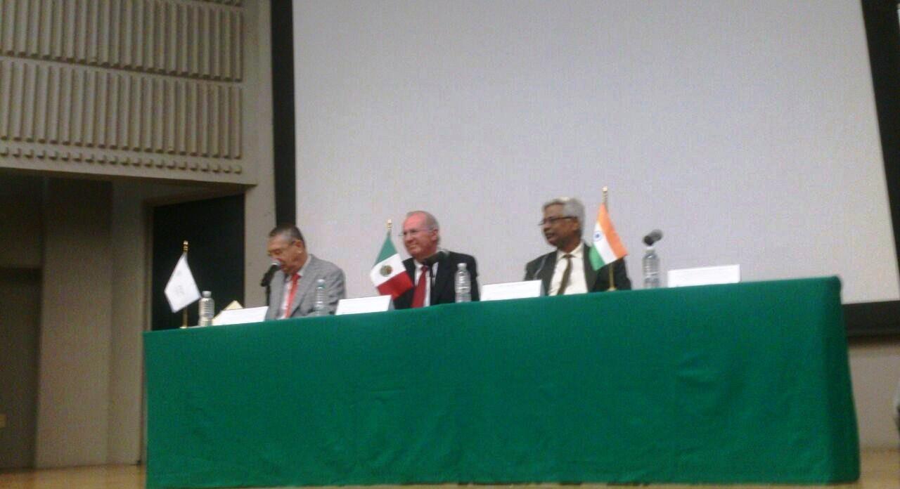 Estrechan cooperación agencias espaciales de México e India ante desastres naturales