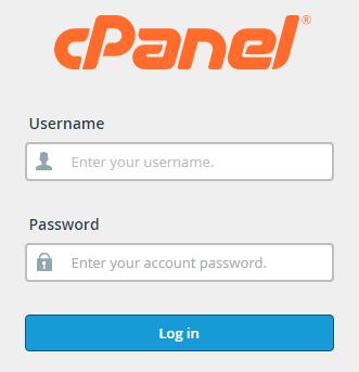 cpanel login page gobabbu