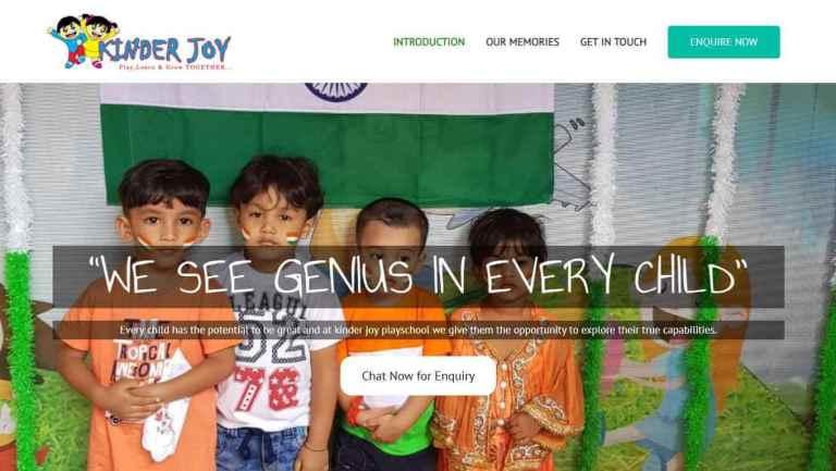 Kinder Joy Pg Mumbai - website built by GoBabbu.com