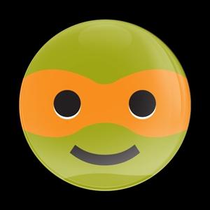 Dome BadgeEmoji Ninja Turtle 1