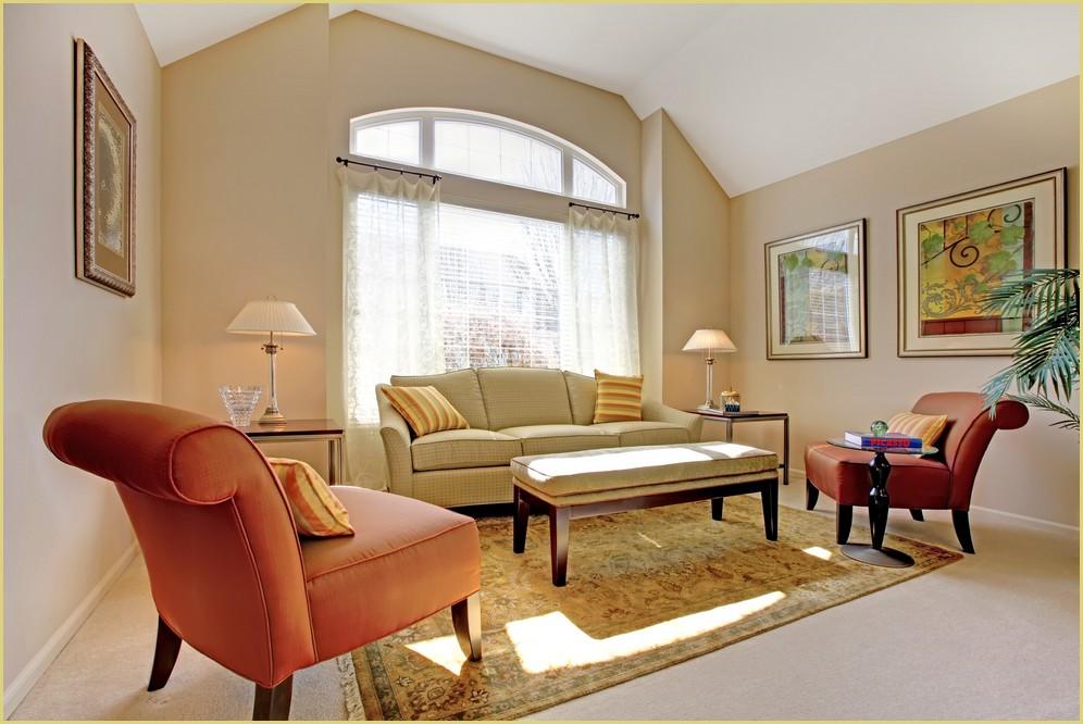 Chaleur dun tapis dorient dans petit salon  GOBELINS TAPIS