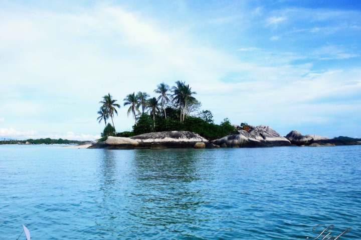 pulau kepayang kecil Belitung Indonésie