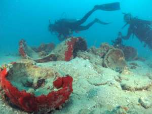 Diving céramique Ming Belitung Indonésie Go Belitung