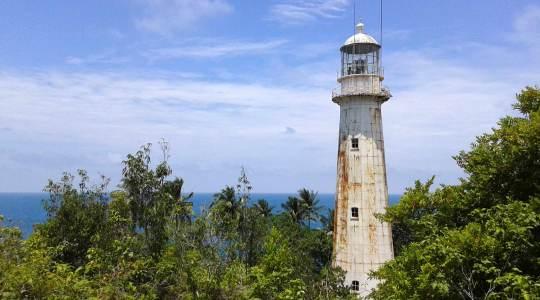 phare tanjung lancor  Belitung Indonésie