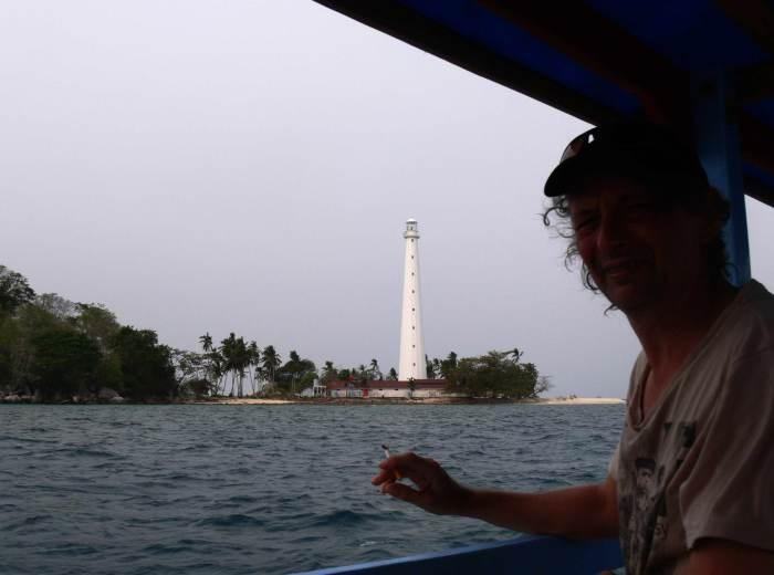 Ile de Lengkuas Belitung Indonésie
