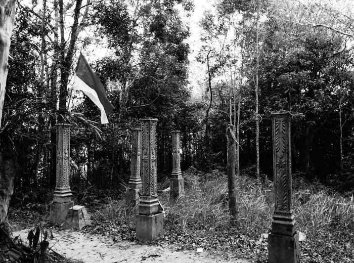 makam gunung Tajam Belitung Indonésie