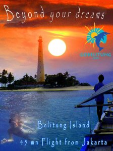 Flyer Go Belitung Indonésie