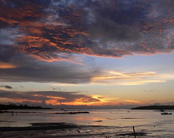 couché de soleil Belitung Indonésie Go Belitung