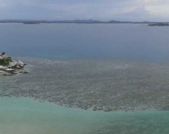 Vue du phare de Lengkuas Belitung Indonésie Go Belitung