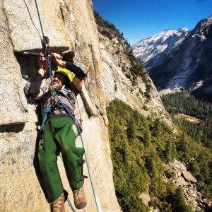 climbing Washington Column Yosemite National Park