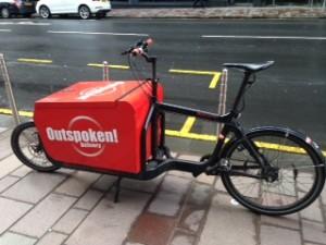 Outspoken Bike, Bothwell St May 2015