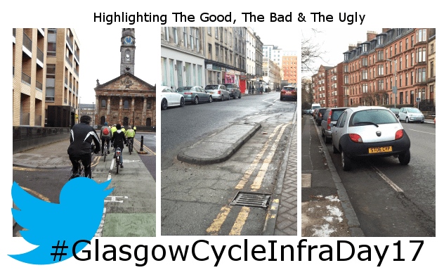 #GlasgowCycleInfraDay17