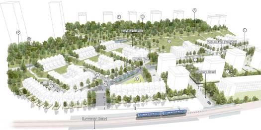 Maryhill North TRA Masterplan area