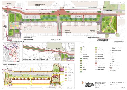 N Woodside Rd plans, Woodside Making Places