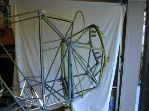 Monocoupe 110 fuselage and Edmundson Owl motor mount