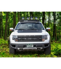 FORD F150/RAPTOR  RANGER RACK  4 Independent LED Lights ...
