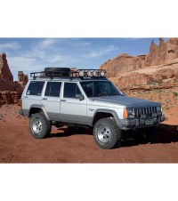 JEEP CHEROKEE XJ  RANGER W/ TIRE RACK  Multi-Light Setup ...