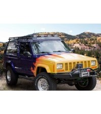JEEP CHEROKEE XJ STEALTH RACK  Multi-Light Setup NO ...