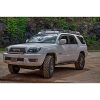 TOYOTA 4RUNNER 4th GEN  STEALTH RACK  4 Independent LED ...