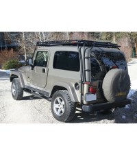 JEEP TJ STEALTH RACK Multi-Light Setup - Gobi Racks