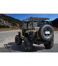 JEEP TJ STEALTH RACK Lightbar Setup - Gobi Racks
