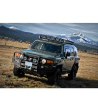 TOYOTA FJ CRUISER  RANGER RACK Multi-Light Setup - Gobi ...