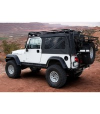 JEEP TJ RANGER RACK Multi-Light Setup - Gobi Racks