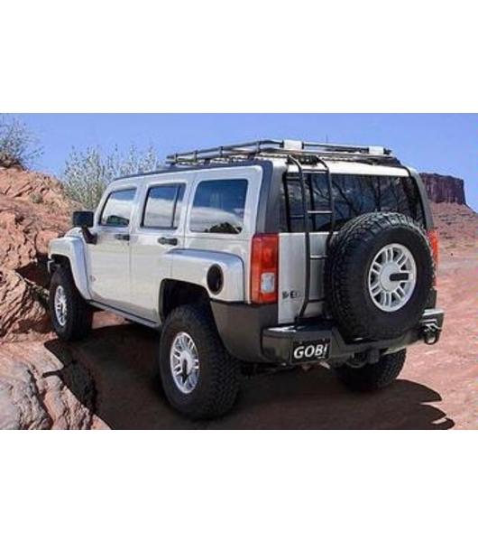 GOBI Hummer H3 Stealth Rack No Sunroof