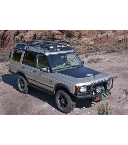 Land Rover Discovery Stealth Rack Multi Light Setup