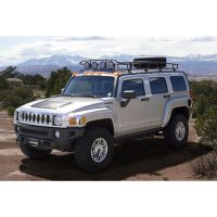 HUMMER H3 RANGER WITH TIRE RACK  4 Independent LED