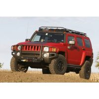 HUMMER H3 STEALTH RACK  4 Independent LED Lights WITH
