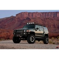 HUMMER H3 RANGER RACK  4 Independent LED Lights WITH