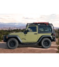 JEEP JK 2DOOR  STEALTH RACK Multi-Light Setup - Gobi Racks