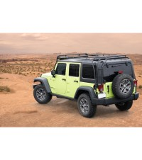 jeep jku roof rack - garvin wilderness expedition roof ...