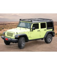 JEEP JKU 4DOOR STEALTH RACK 4 Independent LED Lights