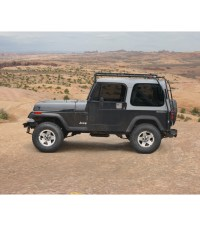 JEEP YJ 86-95  STEALTH RACK Multi-Light Setup - Gobi Racks
